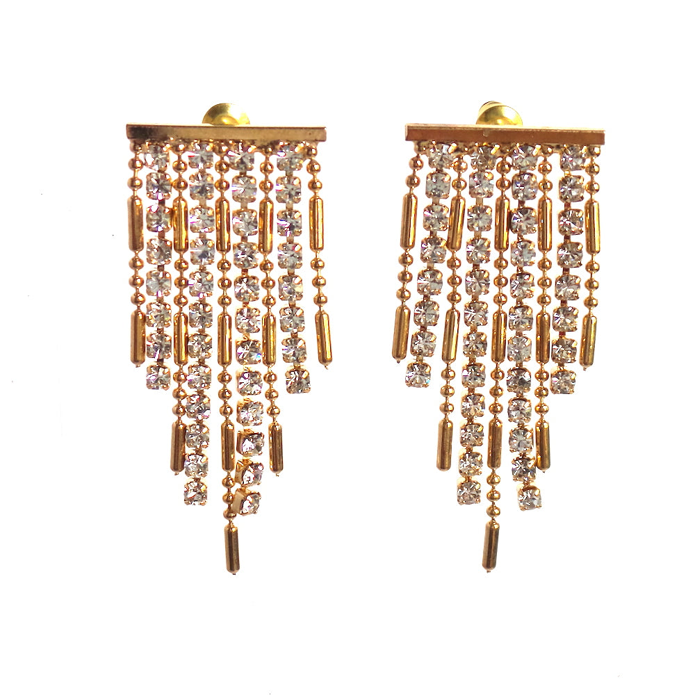 Cynan Swarovski Fringe Earrings - Estilo Concept Store
