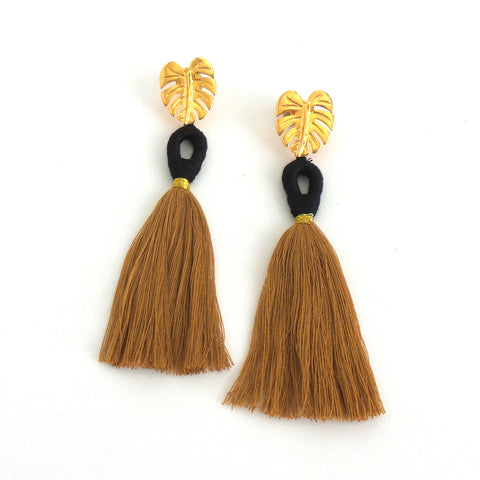 Black Ballerina Earrings