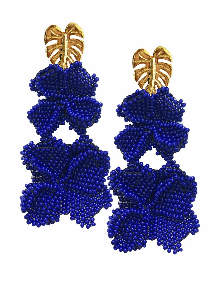 Cobalt Graden Earrings - Estilo Concept Store