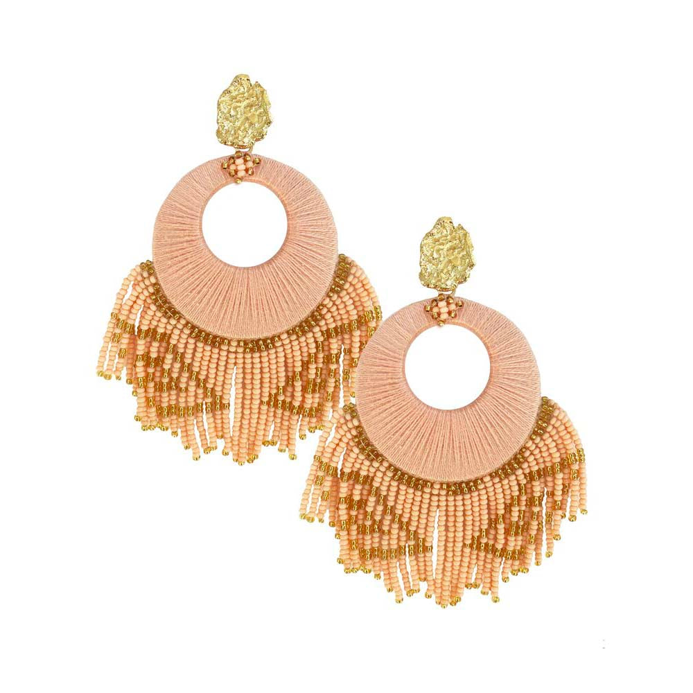 Peach Sunshine Earrings - Estilo Concept Store