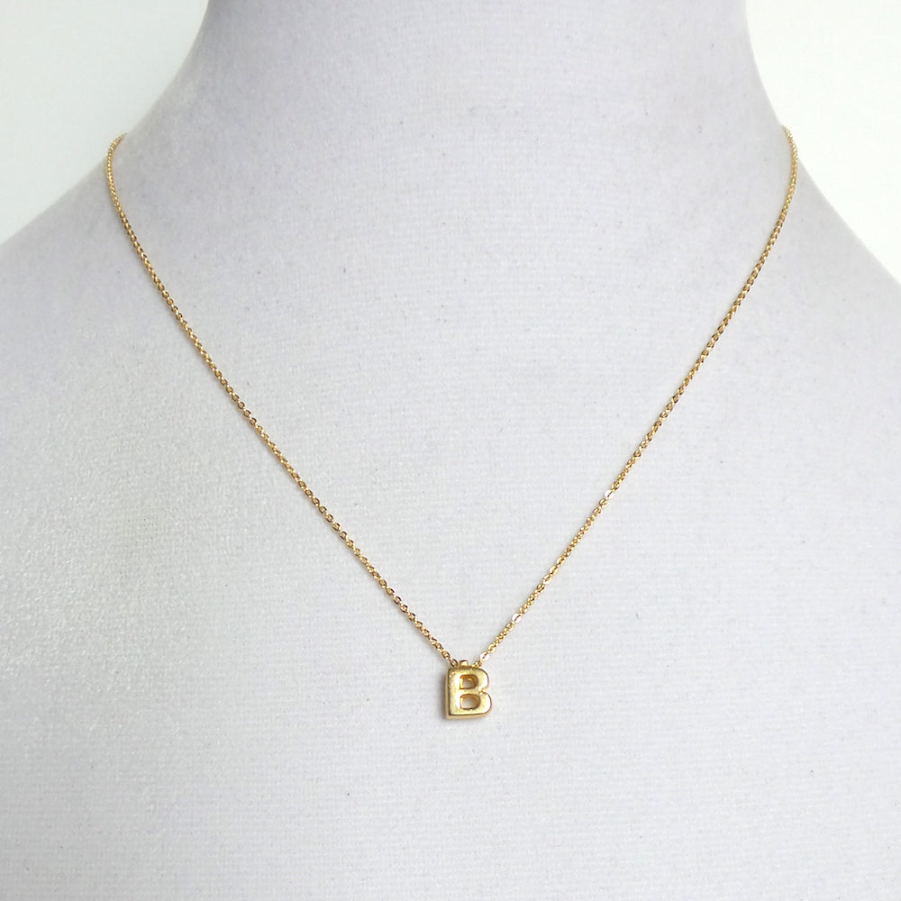 Initial Pendant Necklace *click for more letters - Estilo Concept Store
