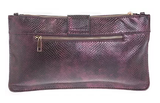 9to5 Aubergine Clutch