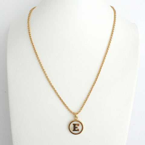 Mother of Pearl Initial Necklace - Estilo Concept Store