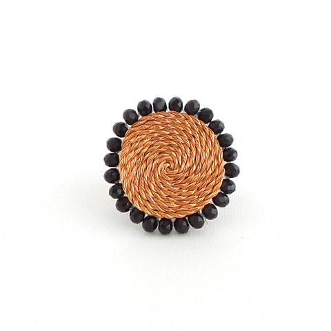 Black Circle Ring - Estilo Concept Store