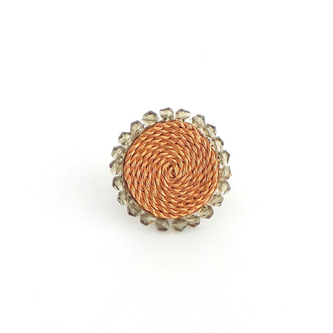 Smoked Circle Ring - Estilo Concept Store