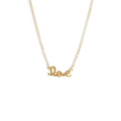 Love Necklace in Gold or Silver - Estilo Concept Store