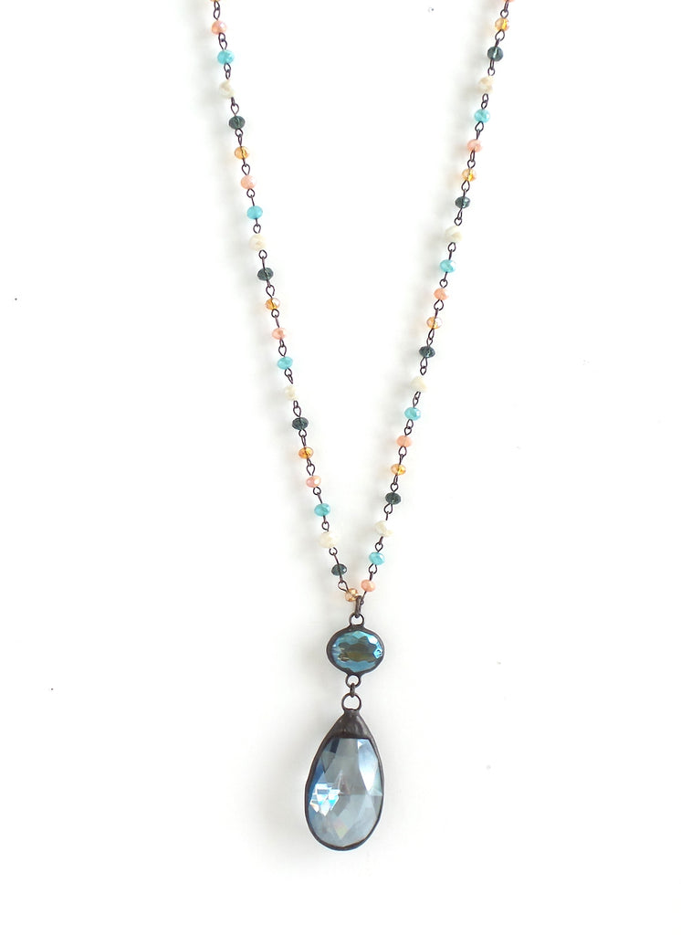 Bluebell Tropical Sunset Long Necklace - Estilo Concept Store