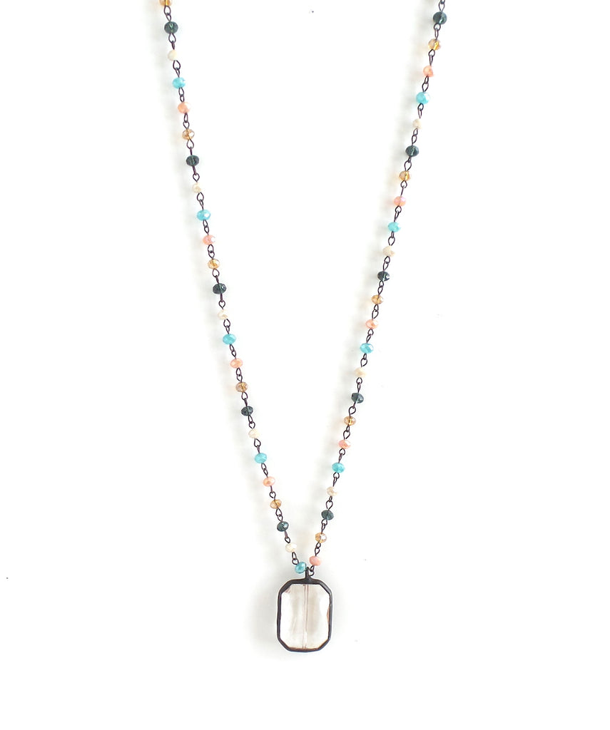Camelia Tropical Sunset Long Necklace - Estilo Concept Store