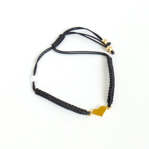 Golden Heart Bracelet