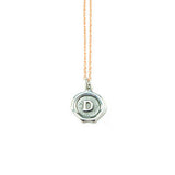 Small Silver Letter Necklace *click for more letters