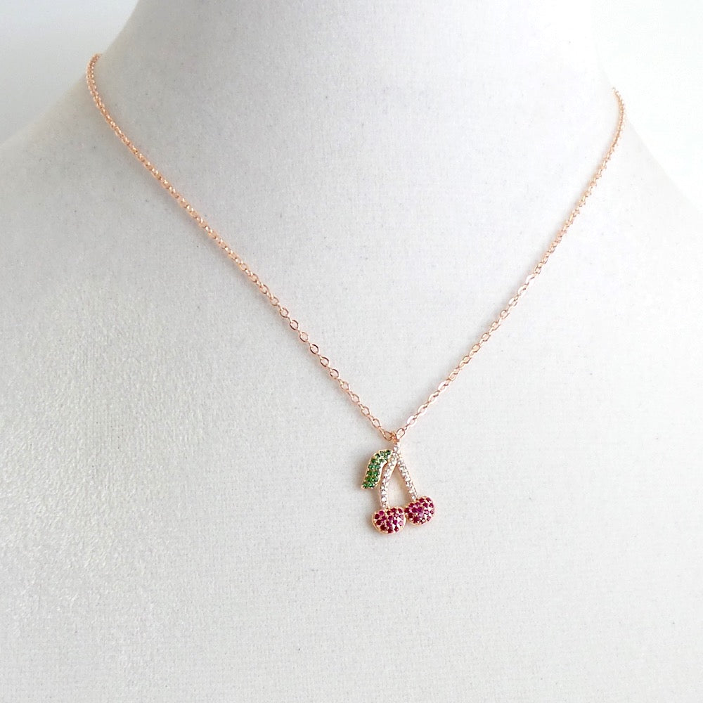 Cherry Charm Necklace