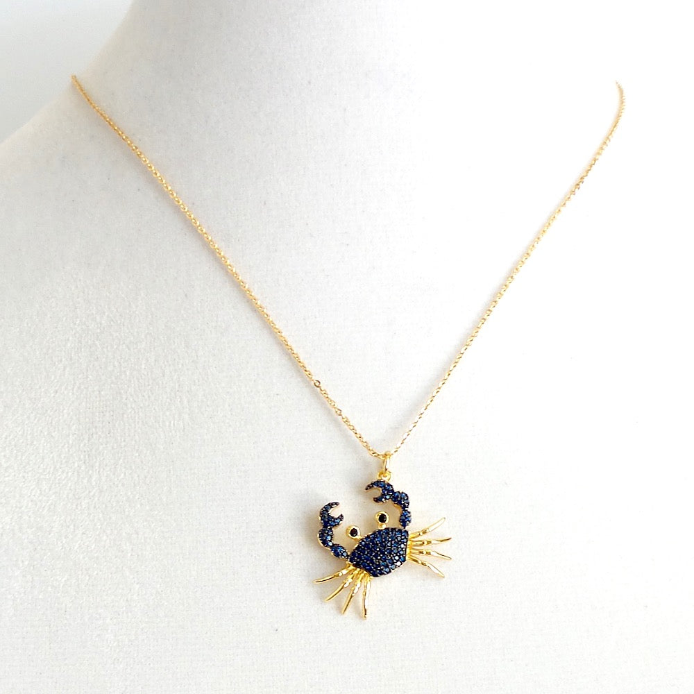 Crab Charm Necklace - Estilo Concept Store