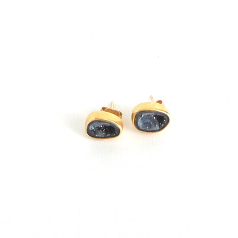 Geode I Gold Earrings