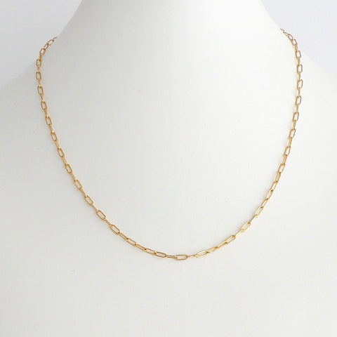 Mini Open Link Chain Necklace