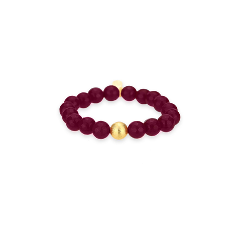Ruby Bianca Bracelet by Budha Girl