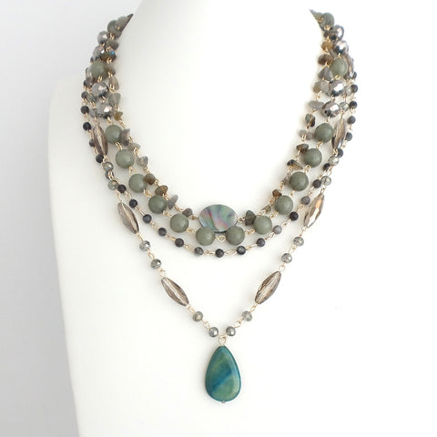 Marie Green Necklace - Estilo Concept Store