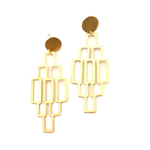 Ursa Gold Earrings