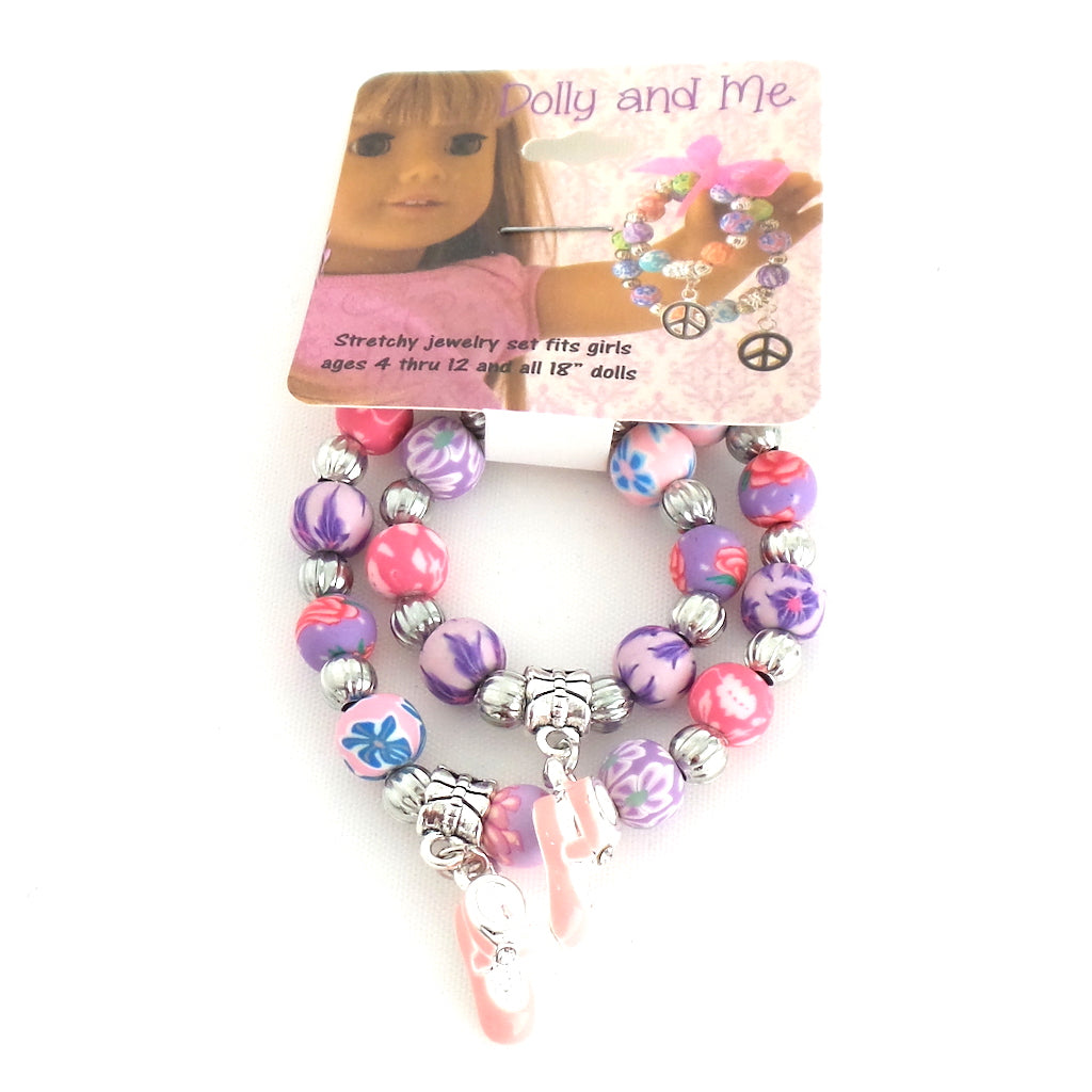 Dolly and Me Ballet Slipper Bracelet Set - Estilo Concept Store