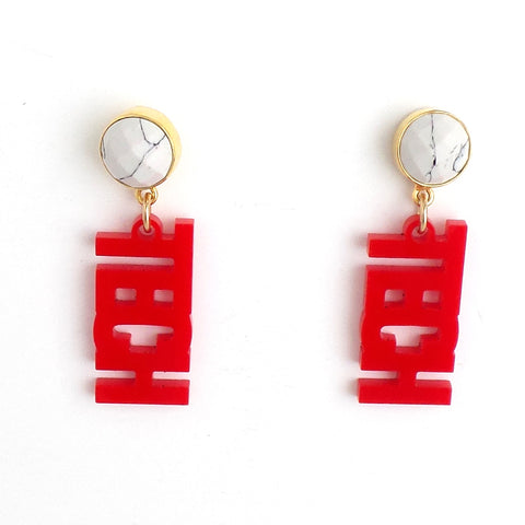 Texas Tech Earrings - Estilo Concept Store