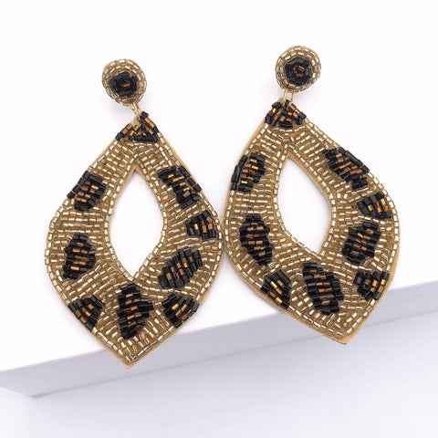 Abby Animal Print Earrings - Estilo Concept Store