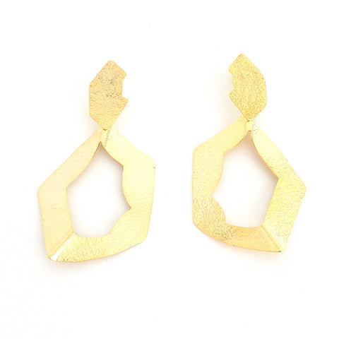 Asymmetric Circle Earrings - Estilo Concept Store