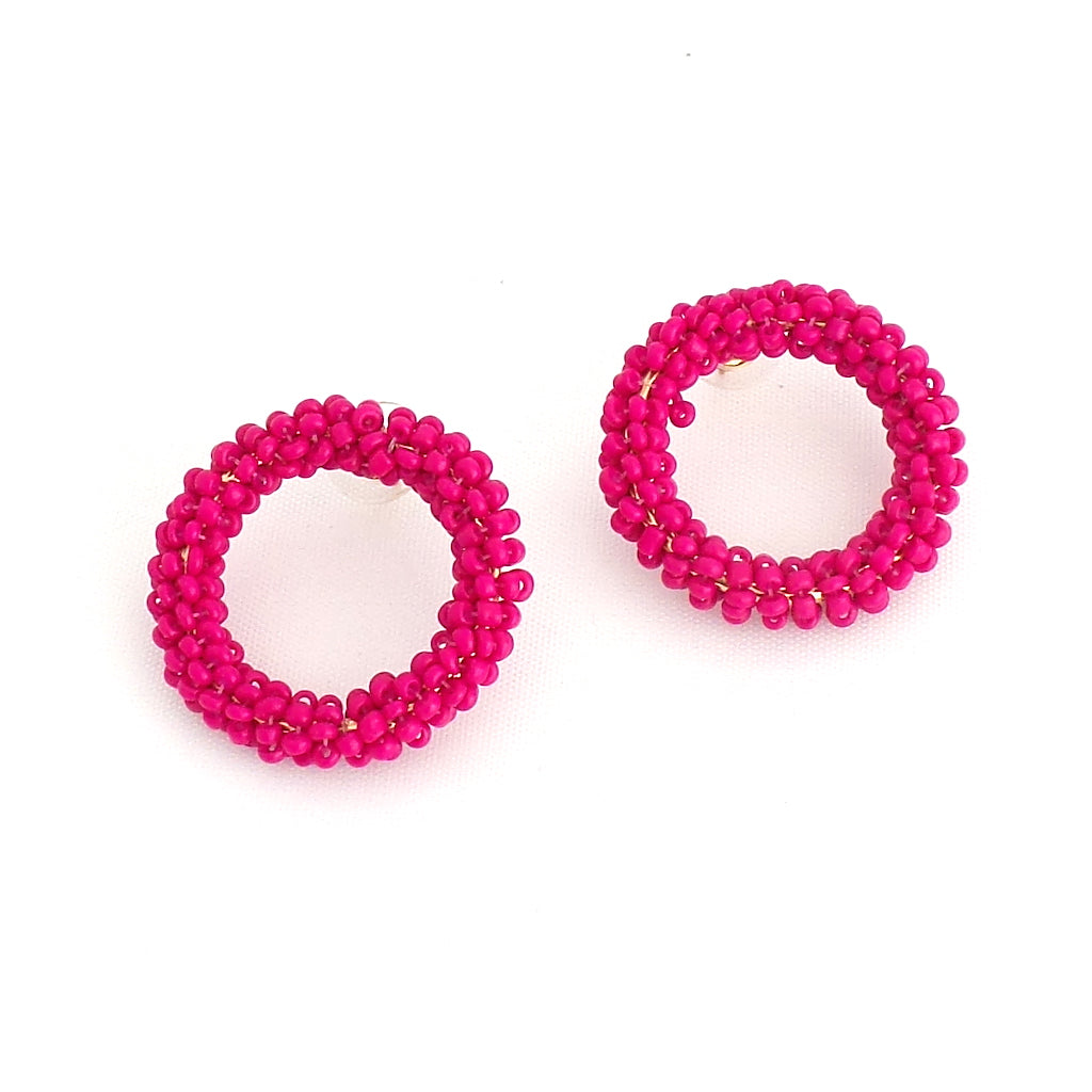 Camille Hot Pink Earrings - Estilo Concept Store