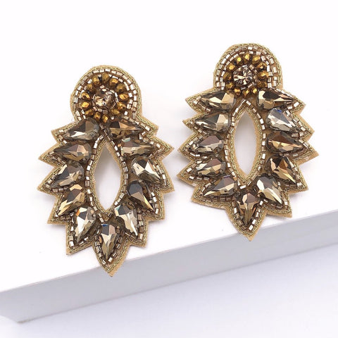 Spike Stud Gold Earrings - Estilo Concept Store