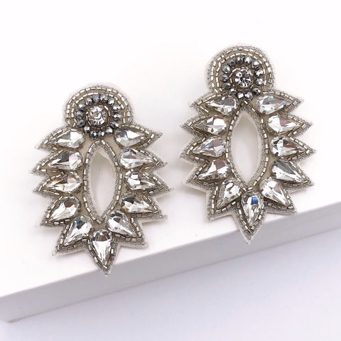 Spike Stud Silver Earrings - Estilo Concept Store