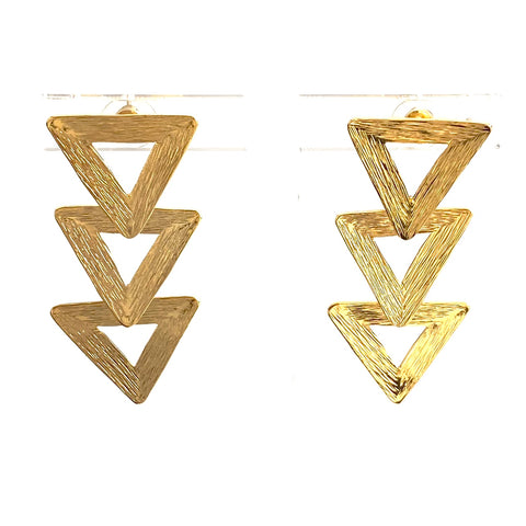 Tamarah Gold Earrings - Estilo Concept Store