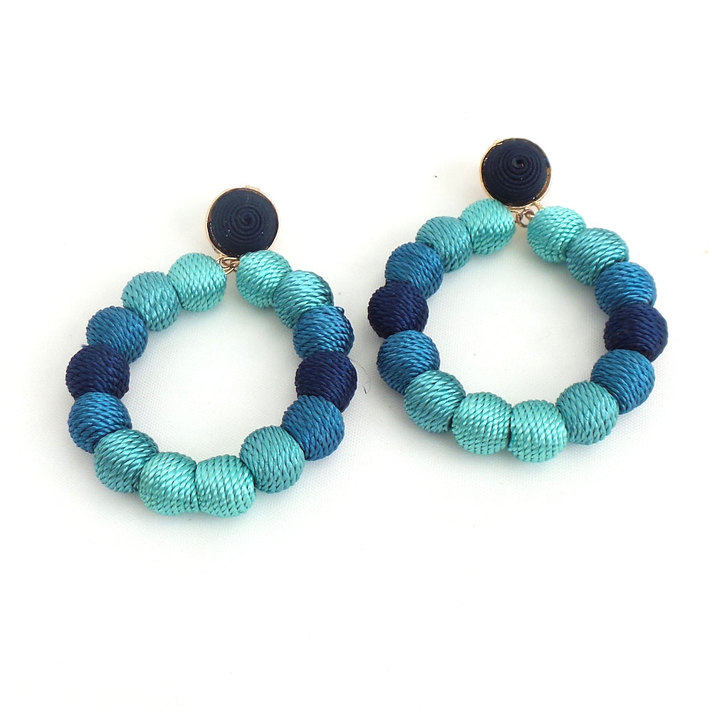 Ashley Blue Multi Earrings - Estilo Concept Store
