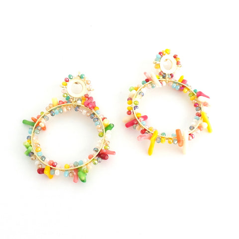 Coral Reef Multi Earrings - Estilo Concept Store