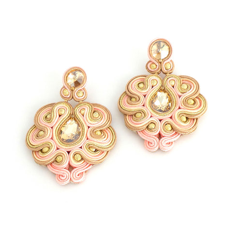 Courtney Pink Earrings