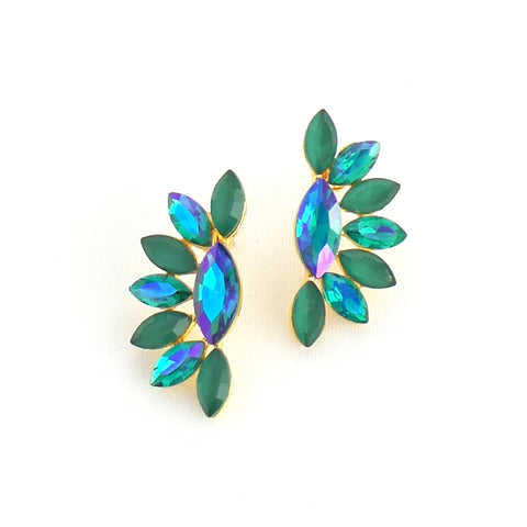 Ellie Green Earrings - Estilo Concept Store
