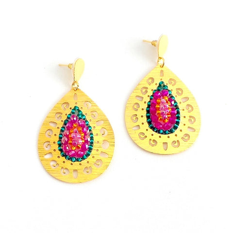 Pato Teardrop Earrings *click for more colors