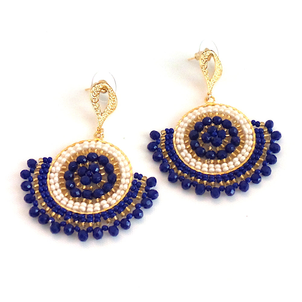 Rhea Blue Earrings - Estilo Concept Store