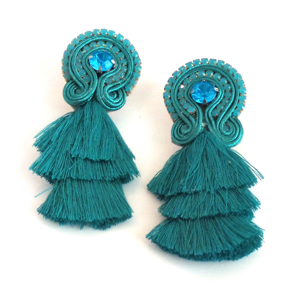 Tier Tassel Earrings - Estilo Concept Store