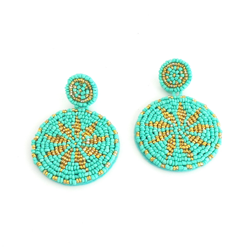 Wayuu Turquoise Earrings - Estilo Concept Store