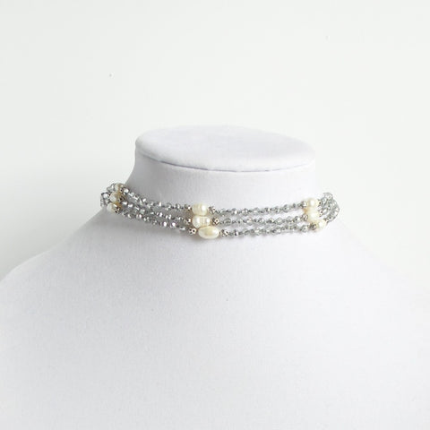Choker with Pearls *click for more colors
