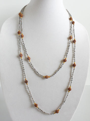 Super Long Ganitri Necklace *click for more colors