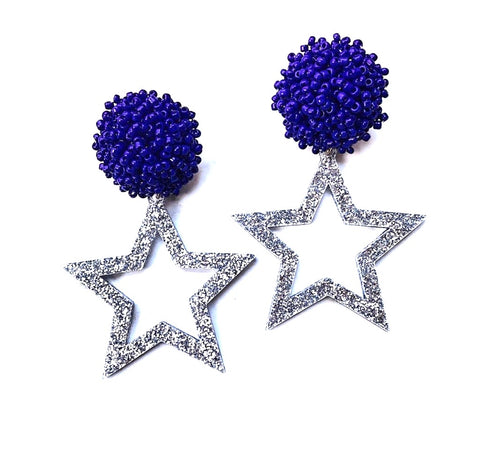Cowboy's Star Earrings