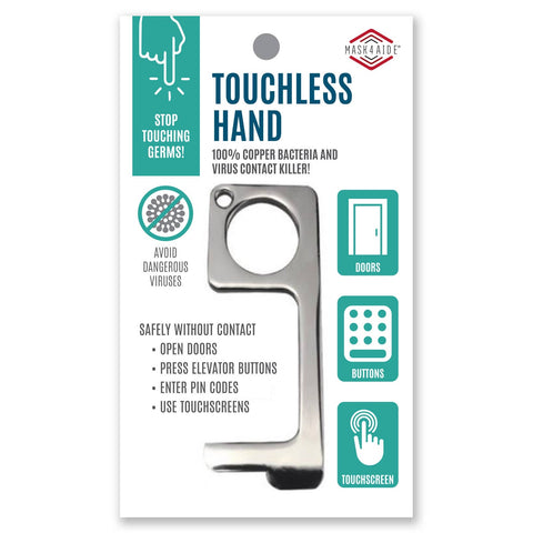 Antimicrobial Copper Touchless Hand Key - Estilo Concept Store