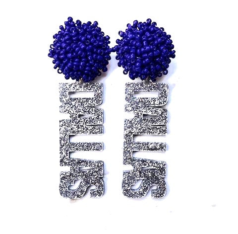 Cowboy's Dallas Earrings