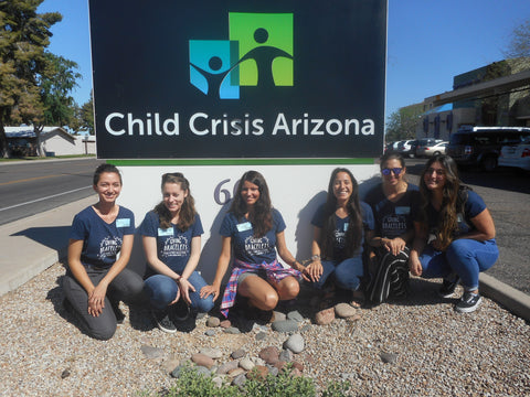 Picture of the Giving Bracelets Tribe at the Center