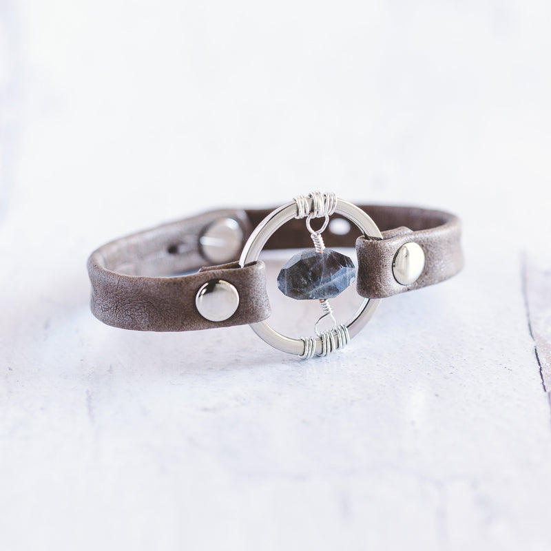 Be the Light Bracelet - Silver