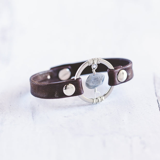 Be the Light Bracelet - Silver 1