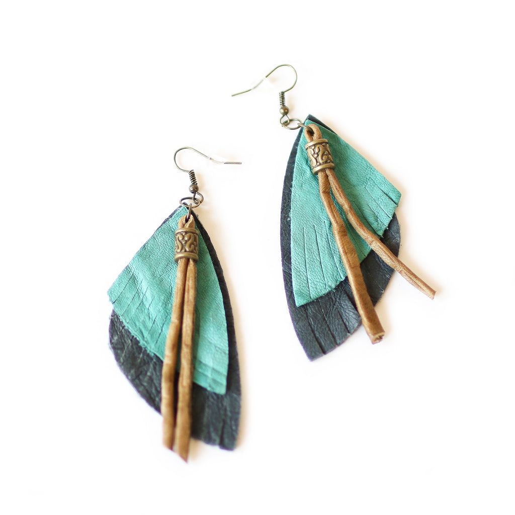 Turquoise Native Earrings - Style Pack