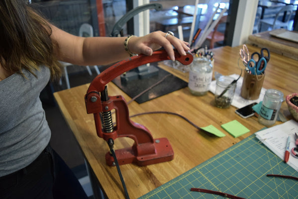 Singles Night! - *BYOB* Giving Bracelets Leather Crafting Workshop