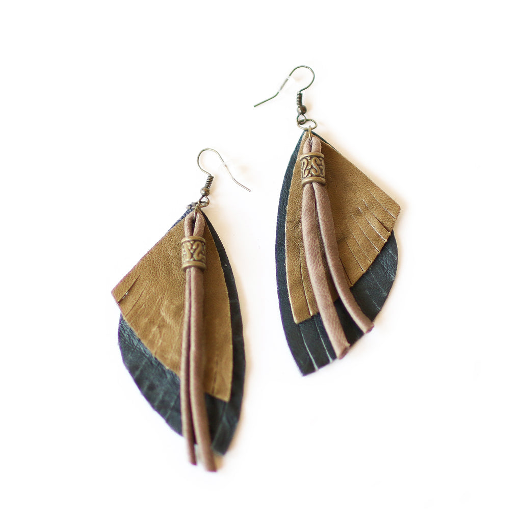 Olive Native Earrings - Style Pack