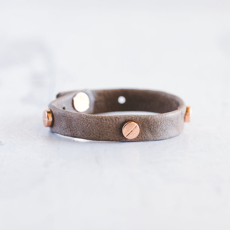 Connected Bracelet - Rose Gold