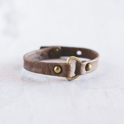 Delight Bracelet - Antique Brass